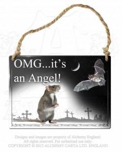 Ooo...! Tas ir Eņģelis!