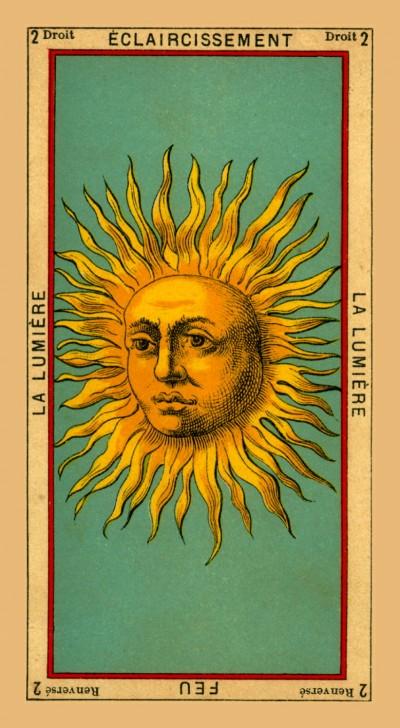 Etteilla Tarot. The Book Of Thoth