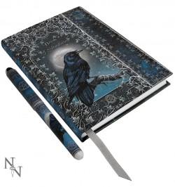 """Piezīmju grāmatiņa ar pildspalvu """"Mēness"""""""
