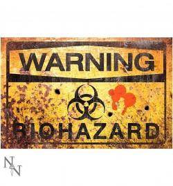Zīme «Brīdinājums. Biobīstamība»