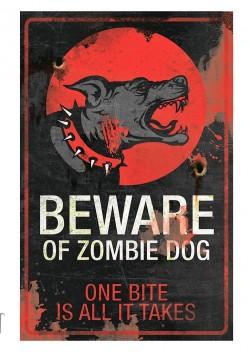 Знак «Собака-зомби» (Zombie Dog)