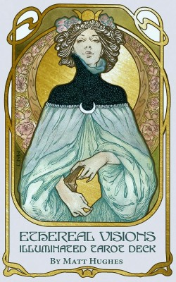 Ethereal Visions: Illuminated Tarot