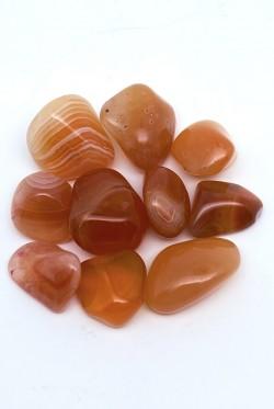 Karneols (sīks akmens) 10 gabali