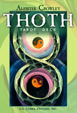 Crowley Thoth Large Tarot (lielā kava)