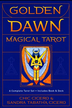Golden Dawn Magical Tarot (без упаковки)